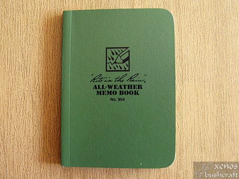 Rite in the Rain Memo book - Корица отпред
