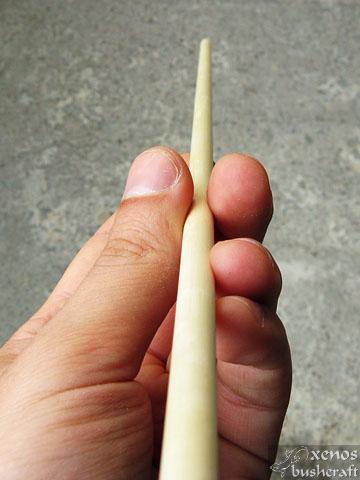 Завършено тяло на стрела (шафт)