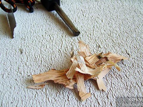 Брезова кора - Купичинка от дребни късчета