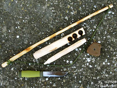 Методът Bow Drill - Целият комплект