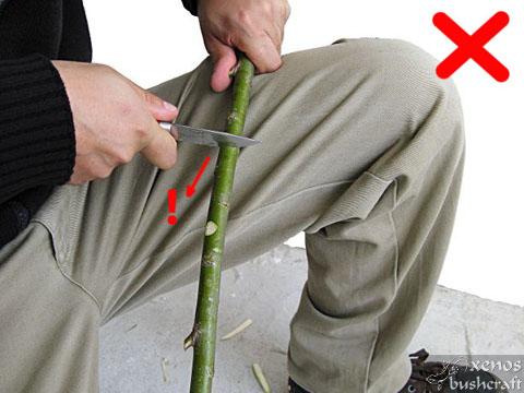 Ножът за Бушкрафт - фиг.18