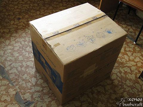Дехидрататор от подръчни материали - Кутията