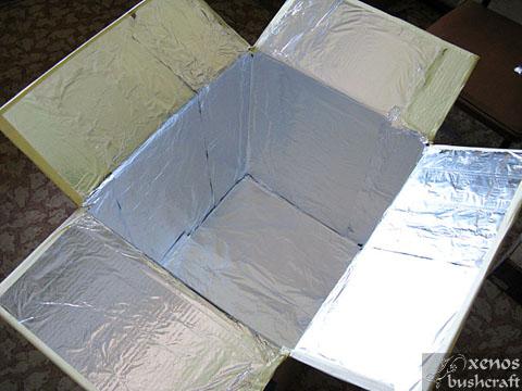Дехидрататор от подръчни материали - Облицоваме с фолио