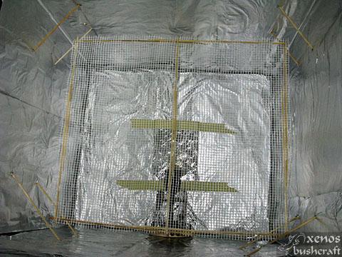 Дехидрататор от подръчни материали - Поглед отвътре
