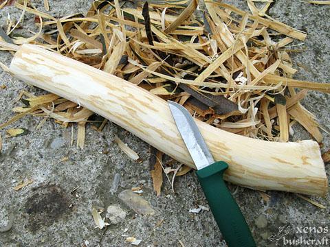 Моят първи дървен черпак