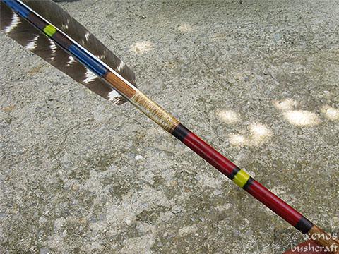 Индианска стрела - Шарки