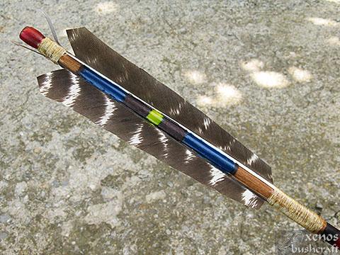 Индианска стрела - Оперението