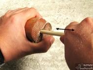 Използване на инструмента за оглаждане на стрели