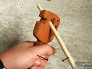 Стрелоизправител - Използване на голямата дупка