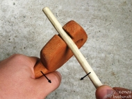 Стрелоизправител - Използване на страничният улей