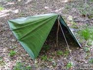 Пирамидална палатка от платнище