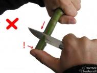 Ножът за Бушкрафт - фиг.10а