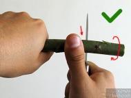 Ножът за Бушкрафт - фиг.11b