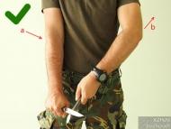 Ножът за Бушкрафт - фиг.24b