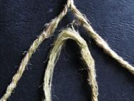 Направа на върви и въжета - Добавяне на влакна - Двустранно