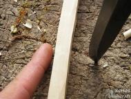 Пръчки-пера (Feather Sticks) - Пръчката