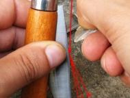 Европейски стил със сгъваем нож