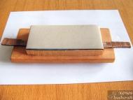 Заточване на нож - Приспособлението, готово за работа