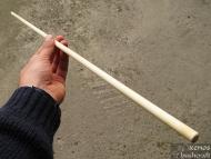 Примитивна индианска стрела - Изправеното и калибровано тяло