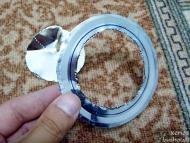 Wood Gas Stove - Изрязване на вътрешността на уплътнитенлния пръстен
