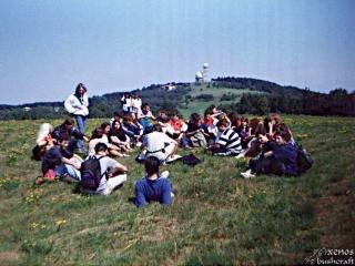 Върбица - лятото на 1999-та година. Тази снимка ми попадна случайно и първоначално дори не забелязах, че съм на нея.