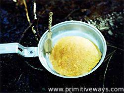 Палачинки от прашец на папур