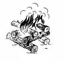 """Огън тип """"Кладенец"""""""