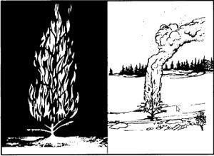 Сигнализиране с дърво-факла