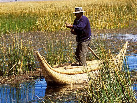 Тръстикова лодка